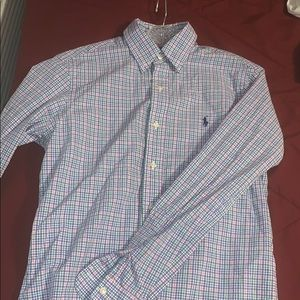 Plaid Polo by Ralph Lauren dress shirt